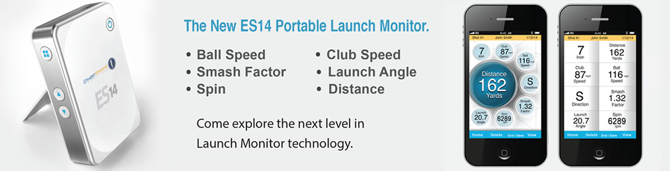 ES14 Portable Launch Monitor