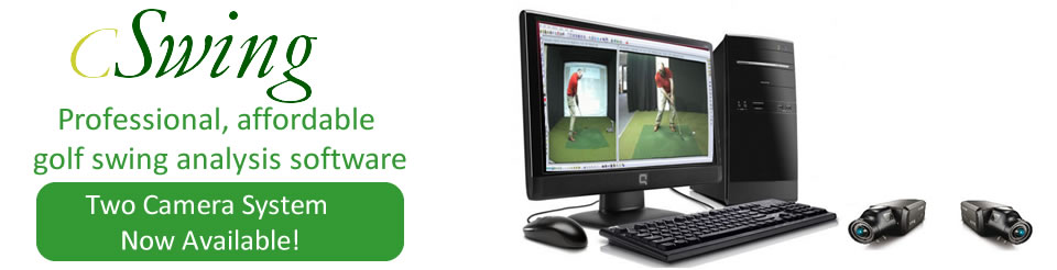 cSwing golf video analysis system