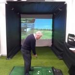Mercedes Benz World Golf Simulator