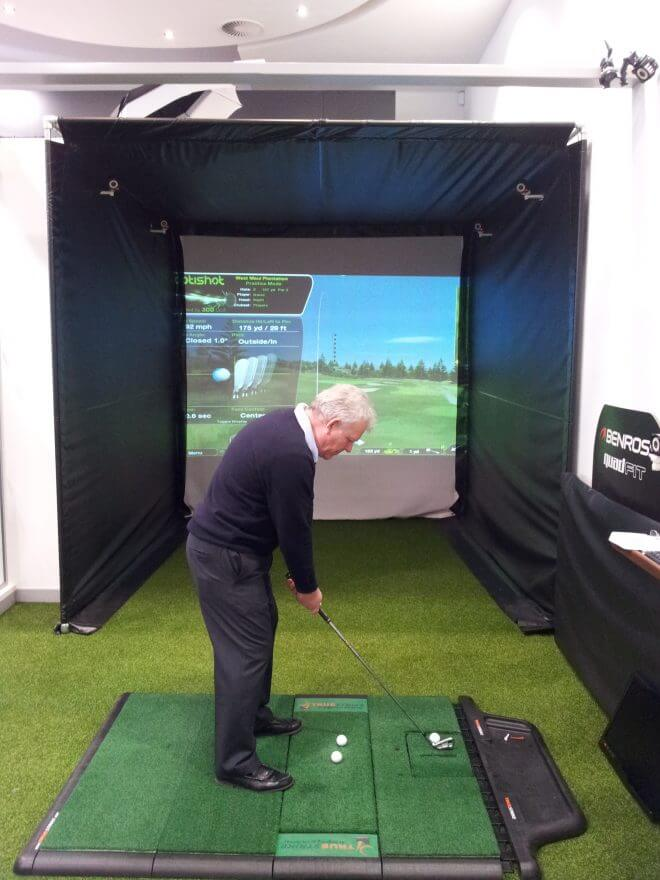 Mercedes Benz World Golf Simulator