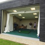 Driving range bay at Mid Sussex GC