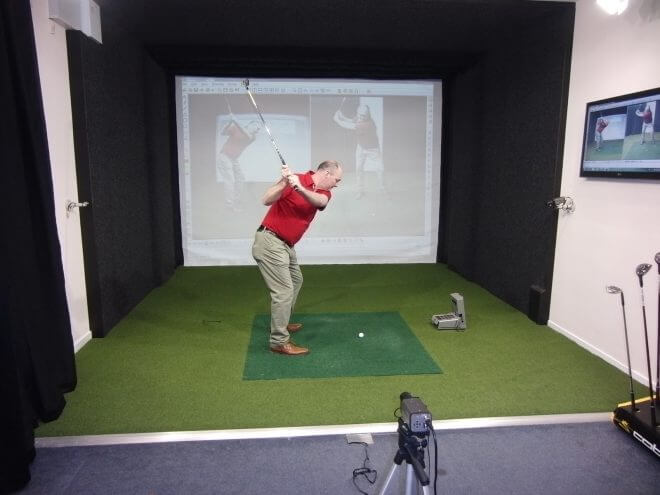 cSwing Video Coaching System with GC2 Launch Monitor