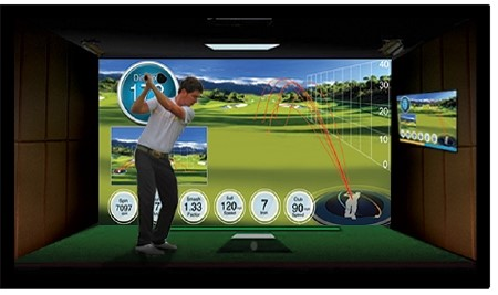 Ernest Sports ES14 Golf Launch Monitor with Projector