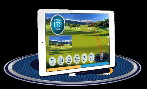Ernest Sports ES14 Golf Launch Monitor with Ipad