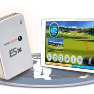 ES 14 Golf Launch Monitor with iPad