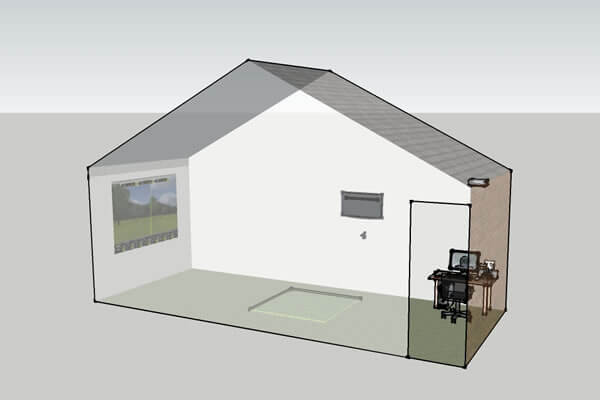 Design of the indoor coaching facility