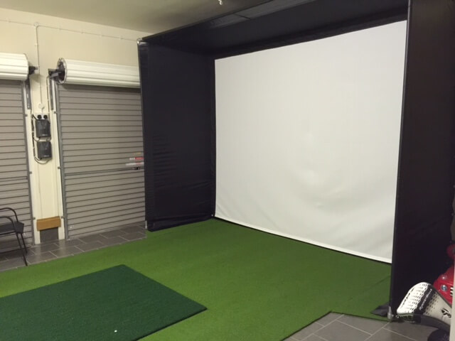 Golf Man Cave Garage