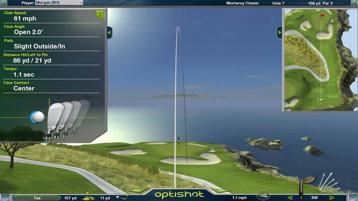 Optishot2 Golf Simulator Affordable Accurate Portable