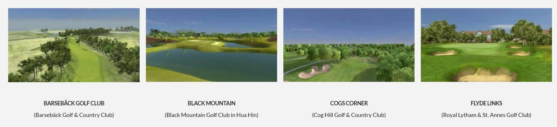 OptiShot Gold Courses
