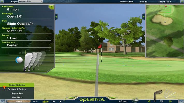 Optishot2 Golf Simulator Affordable Accurate Portable