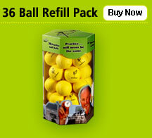 Point 3, 6 Ball Refill Pack