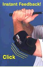 TicTac Elbow Golf Practice Aid