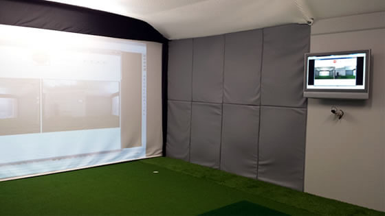 Golf academy installation