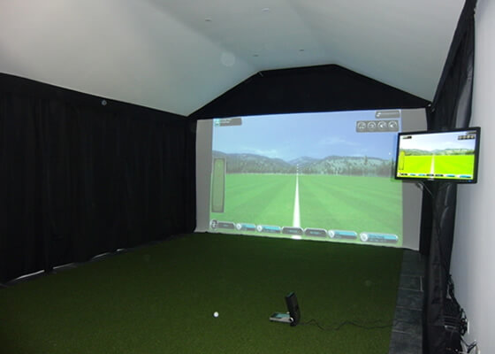 "Golf enclosure ""man cave"""