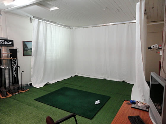 Indoor Golf Netting