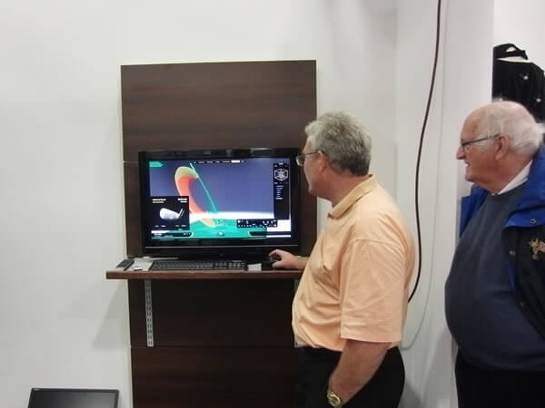 Viewing the Motion Golf System