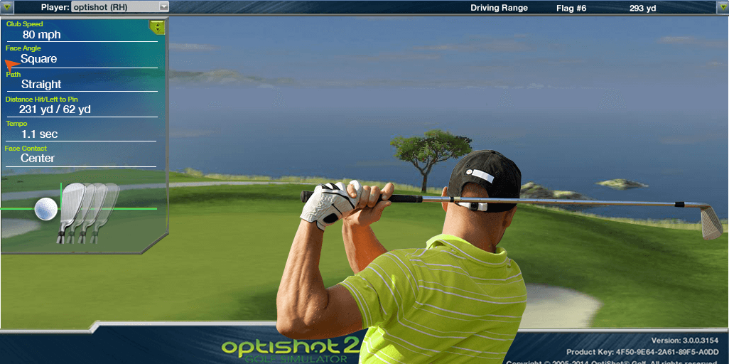 Optishot2 Golf Simulator Club Head Tracking