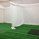 Netting and projection screen