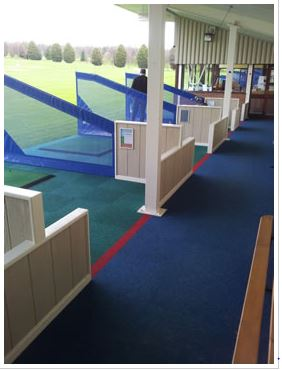 Driving Range Spike Proof Carpet Tiles