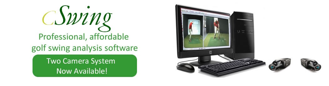 cSwing affordable golf swing analysis software
