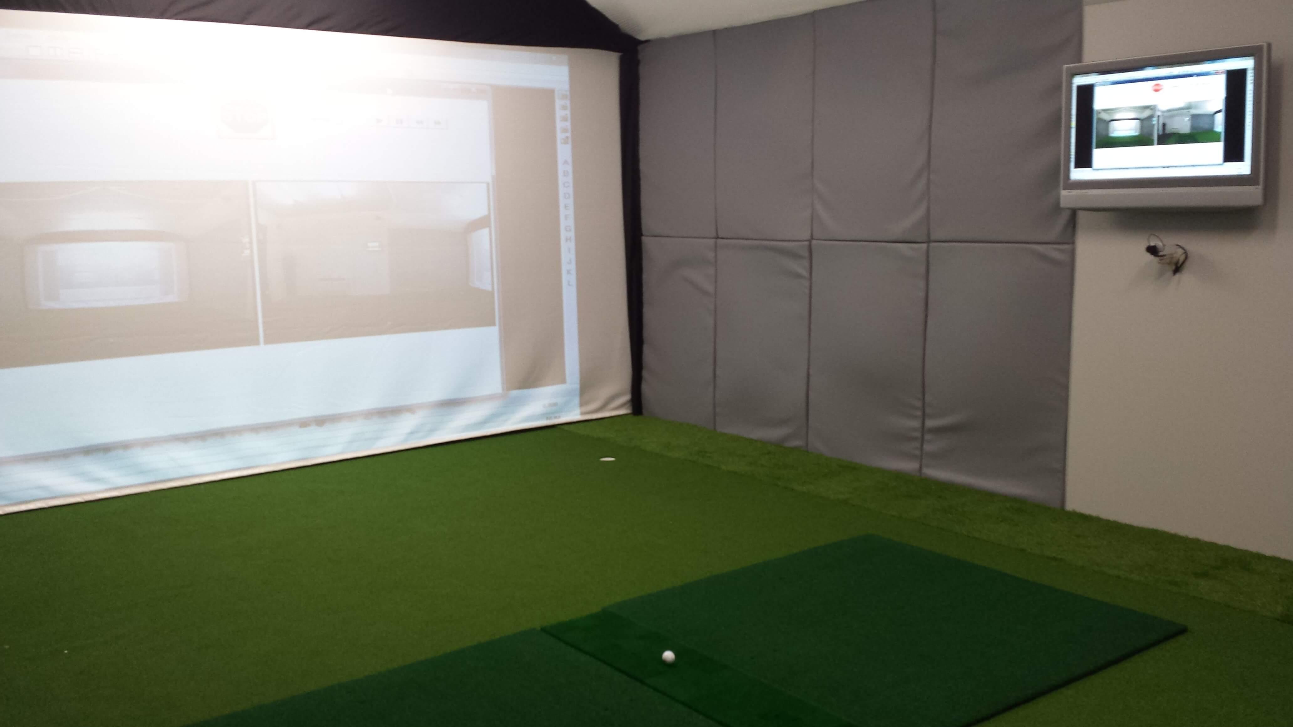 Optishot 2 Golf Simulator Screen Mat Package