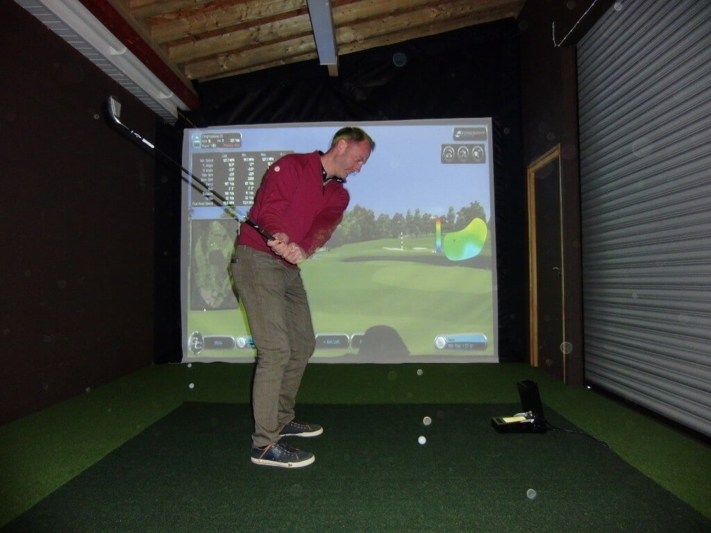 GC2 Golf Simulator Room