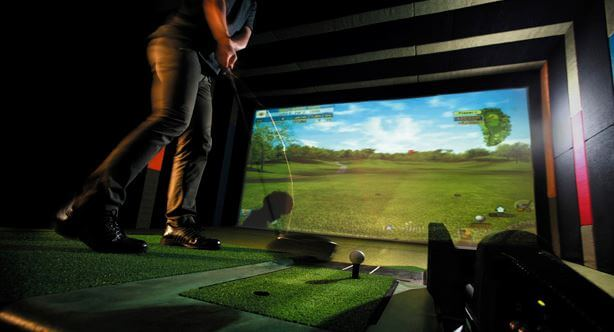 Golfzon Golf Simulator at Celtic Manor Resort