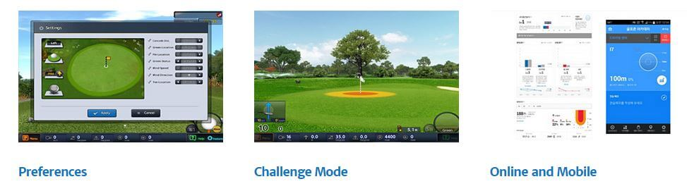 Golfzon GDR Software