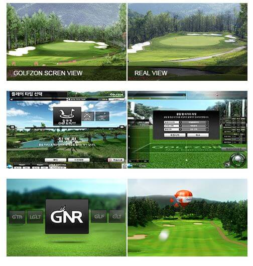 Golfzon REAL Simulator