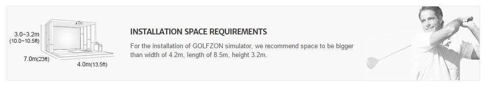 Golfzon Vision requirements
