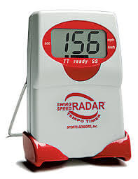 Swing Speed Radar with tempo