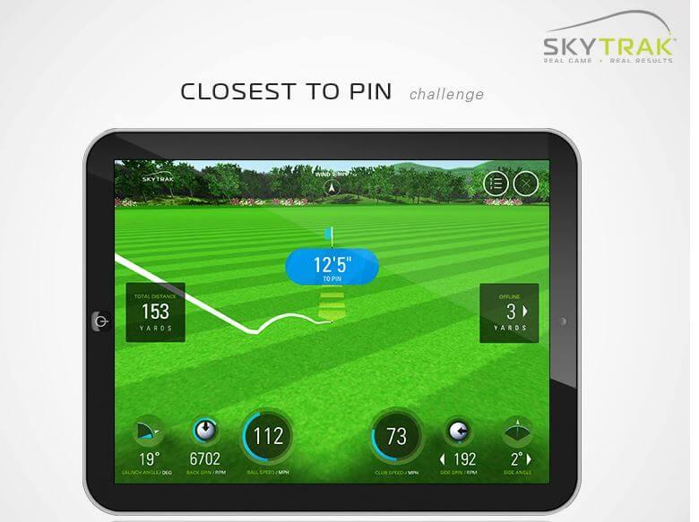 Skytrak Launch Monitor Amp Golf Simulator Golf Swing Systems