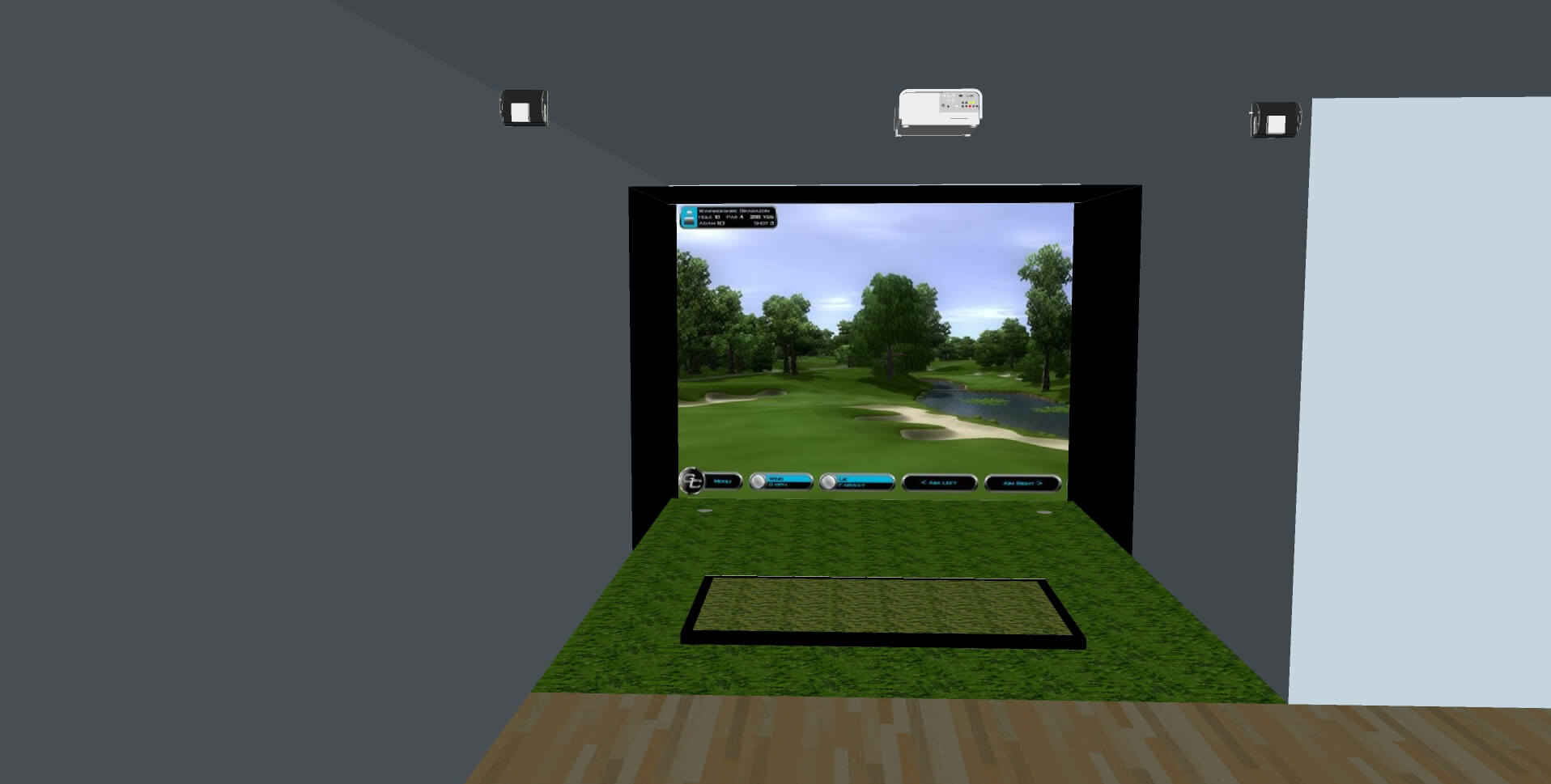 Golf Simulator Design