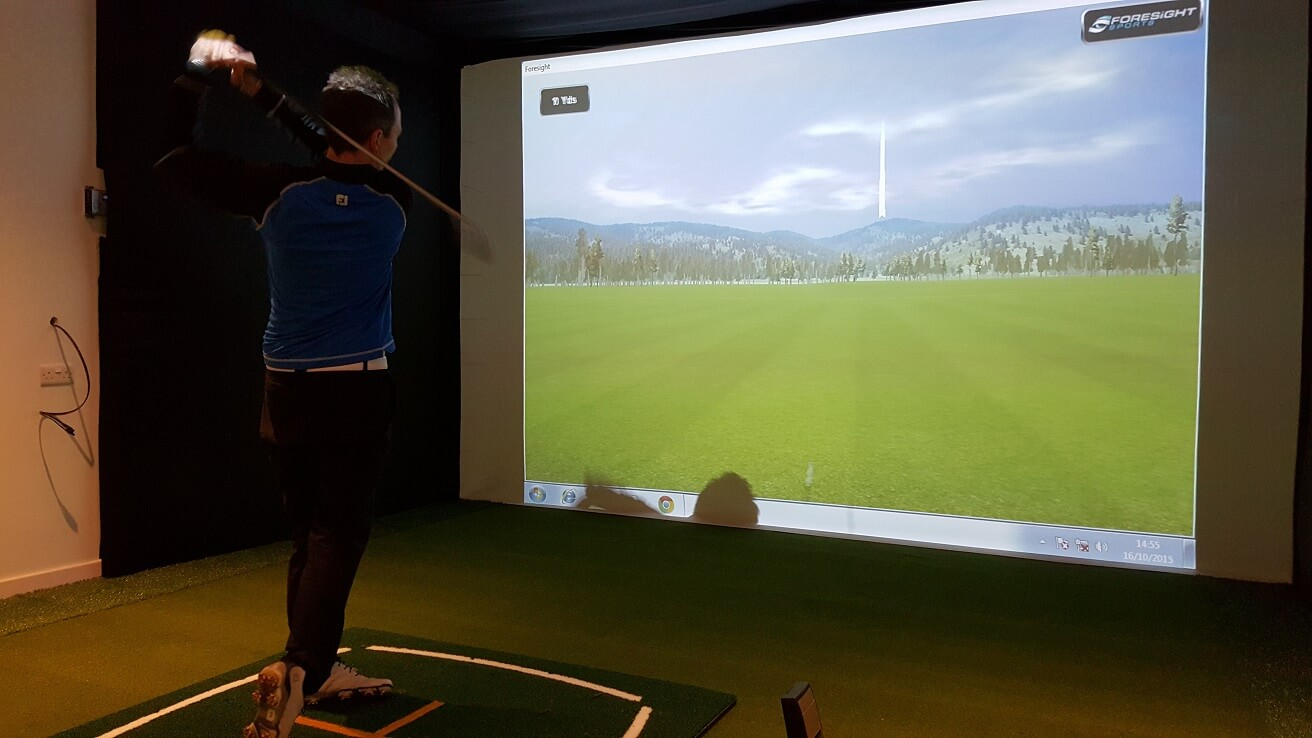 Golf simulator Copt Heath Golf Club