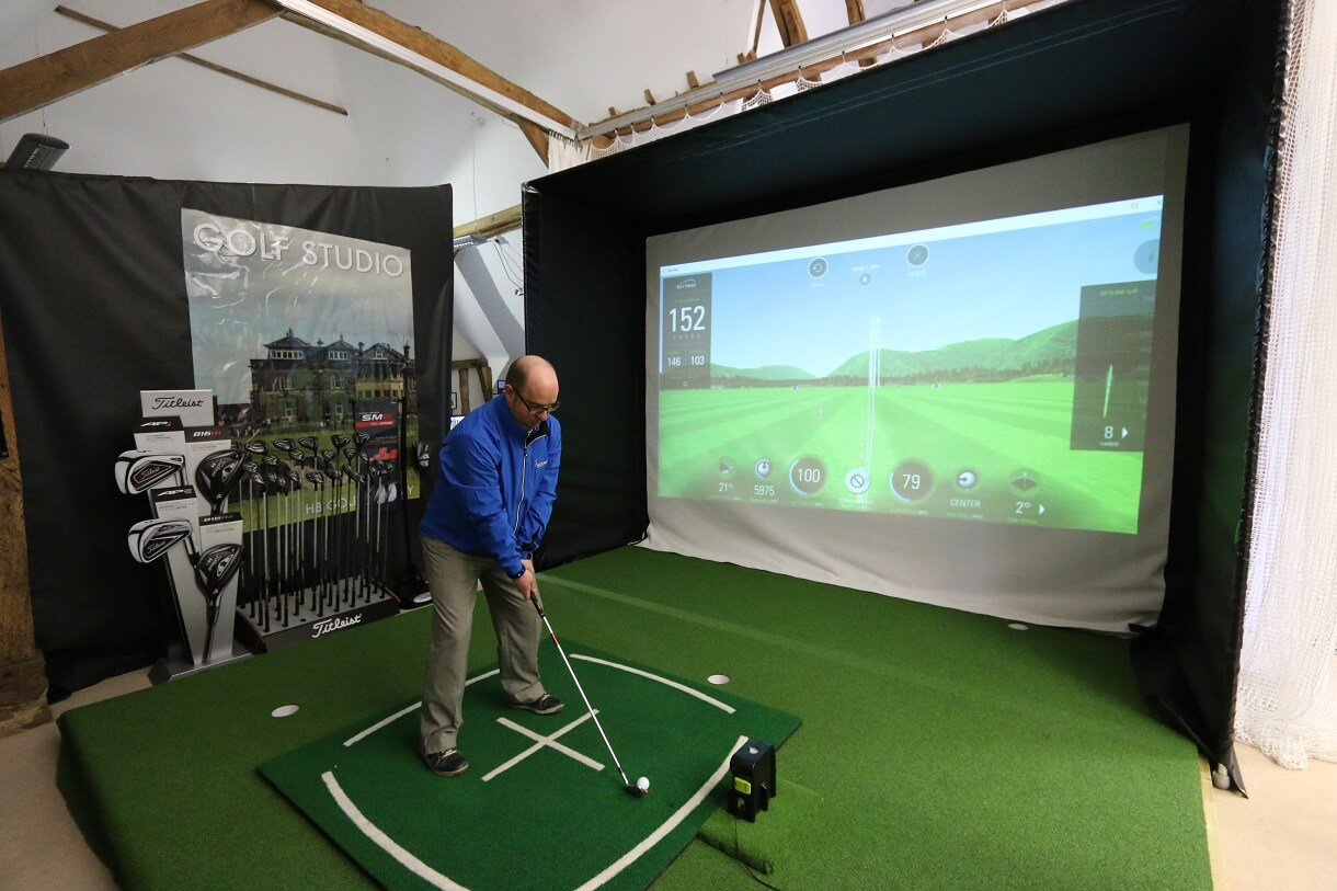 Home Golf Simulator Enclosure Golf Swing Systems