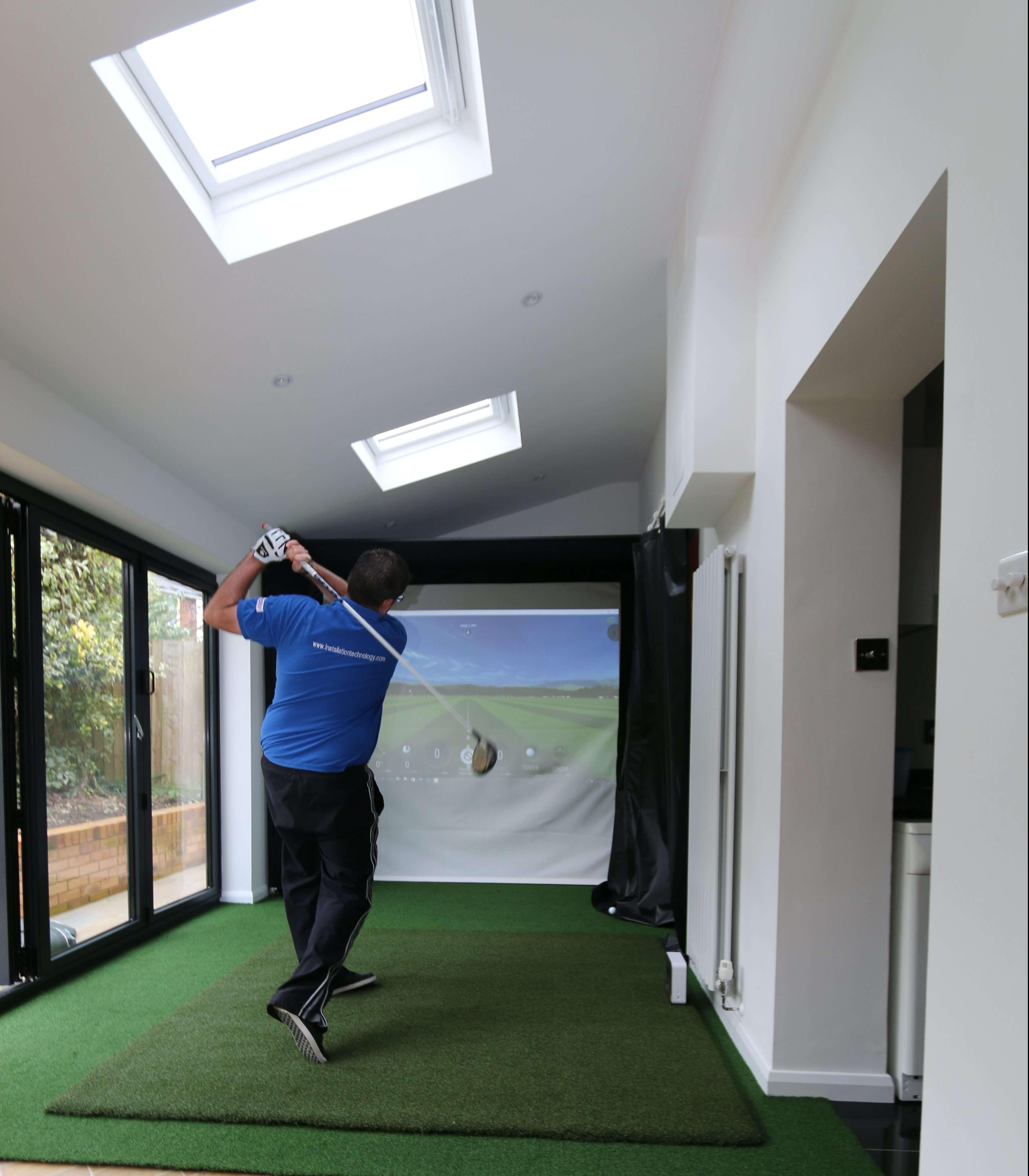 golf simulator business plan