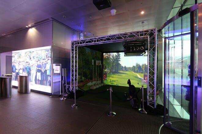Sky Sports SkyTrak Install