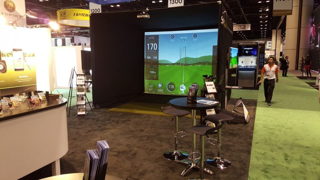 SkyTrak Golf Simulator Enclosure