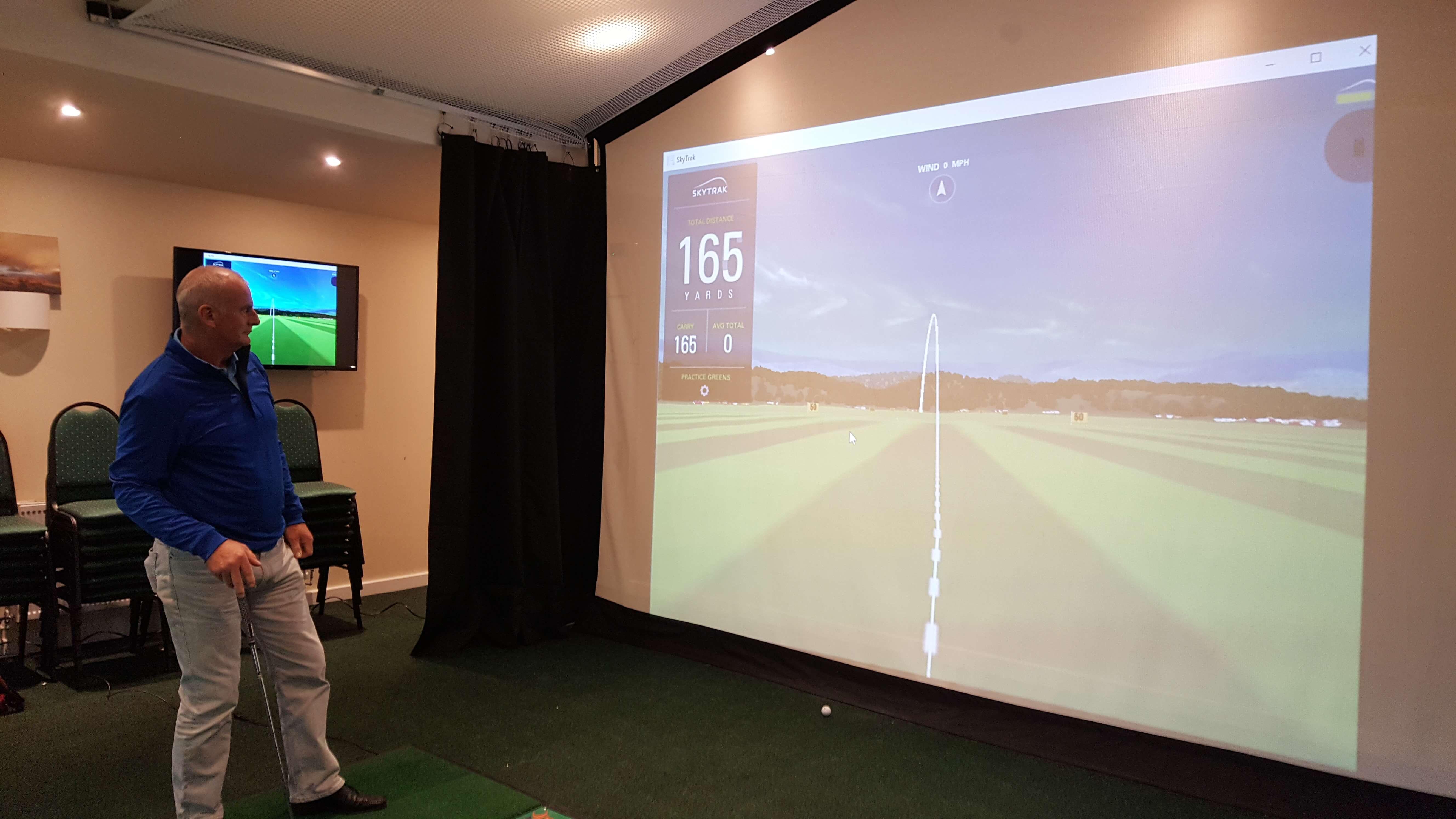 Par 2 Pro SQ HD Golf Simulator Screen Material and Archery Screen Material