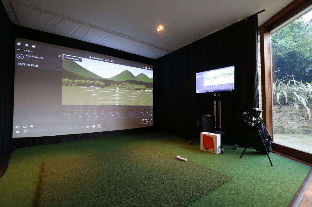 Trackman Golf Simulator For A Private Client In Wimbledon
