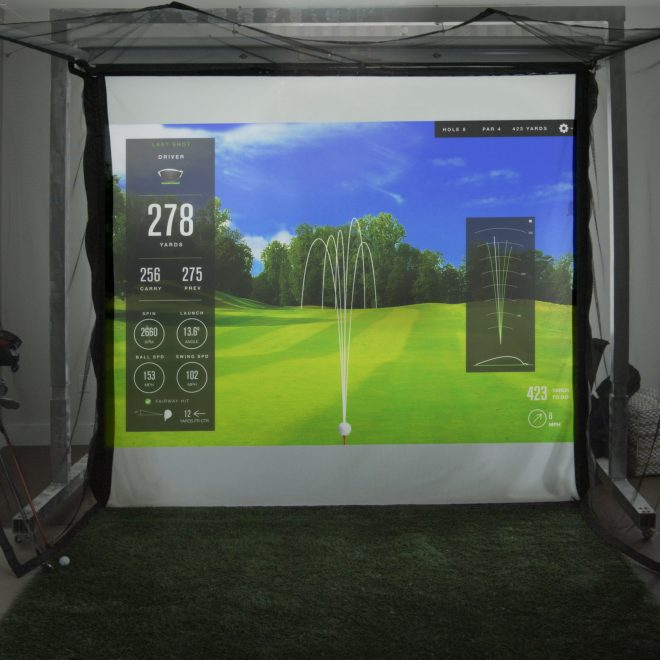 Retractable Golf Simulator Screen