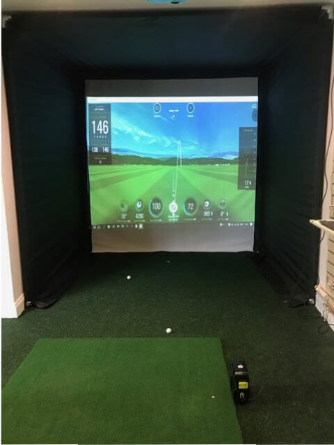 Skytrak Full System Golf Simulator Golf Swing Systems
