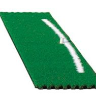 Fiberbuilt 4 Panel Alignment Grass with Swing Path