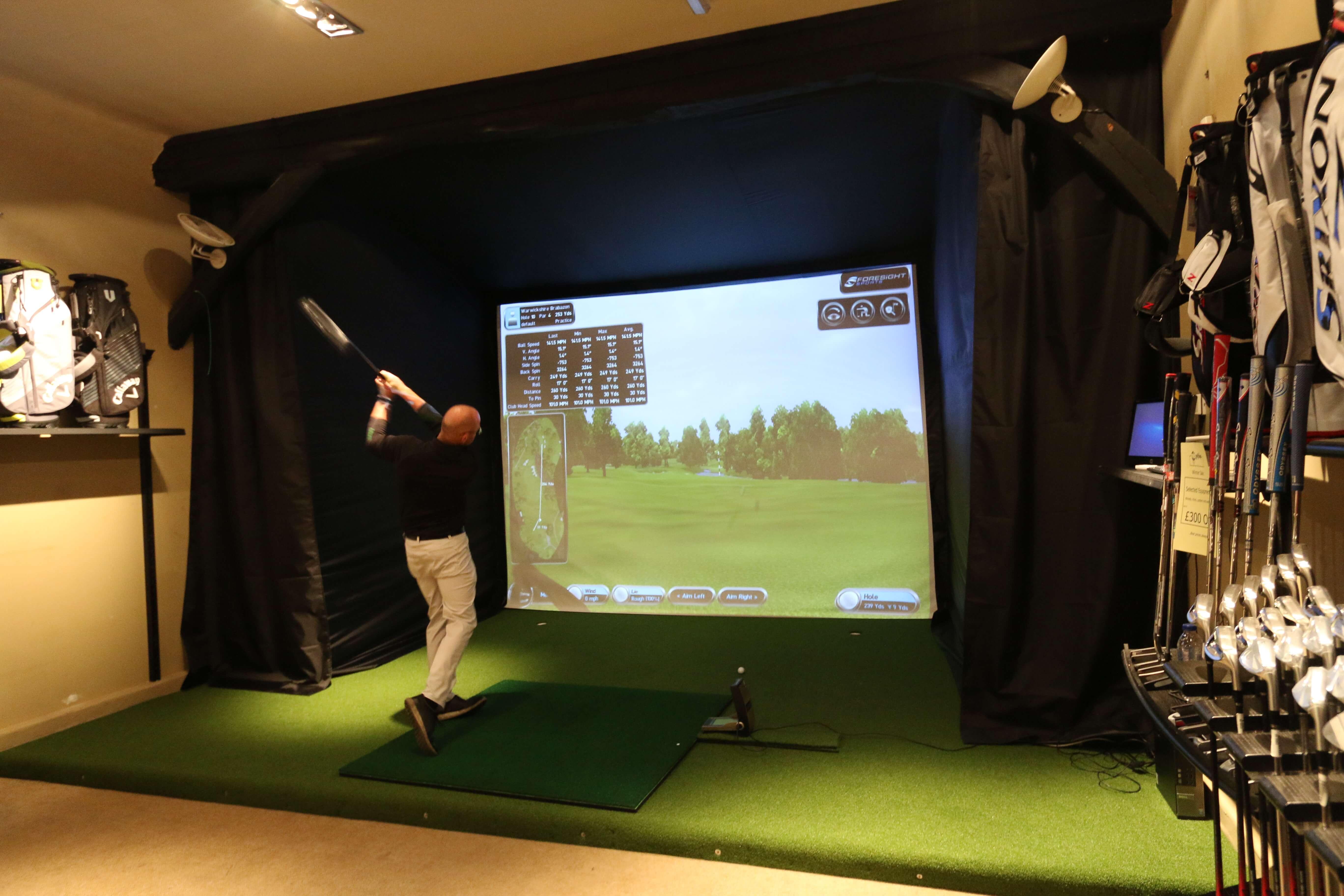 Golf enclosure
