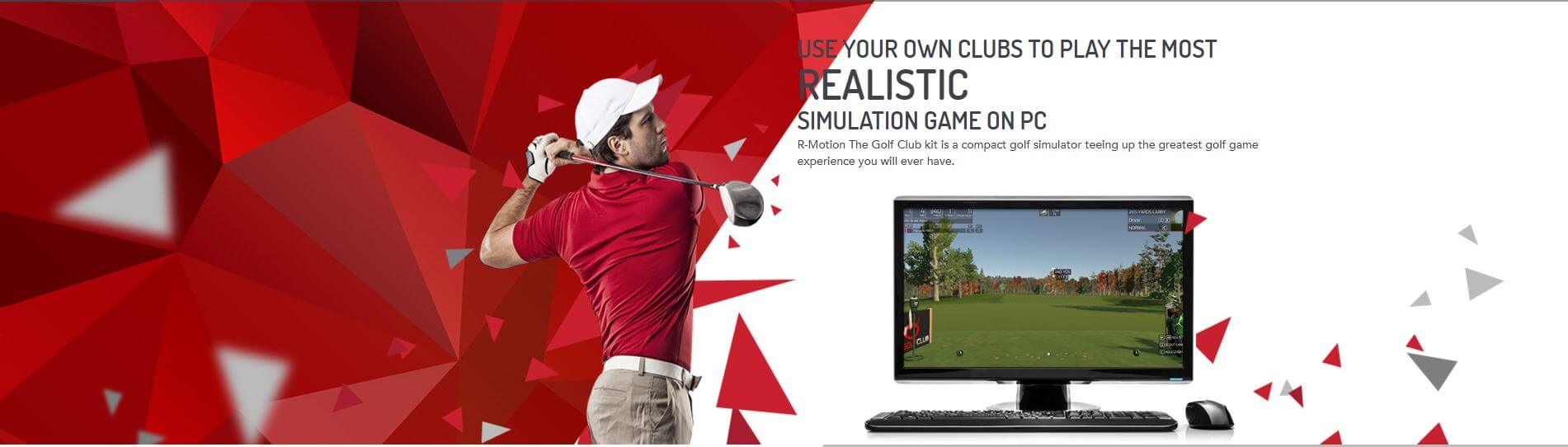 R-MOTION Golf Simulator Club Kit