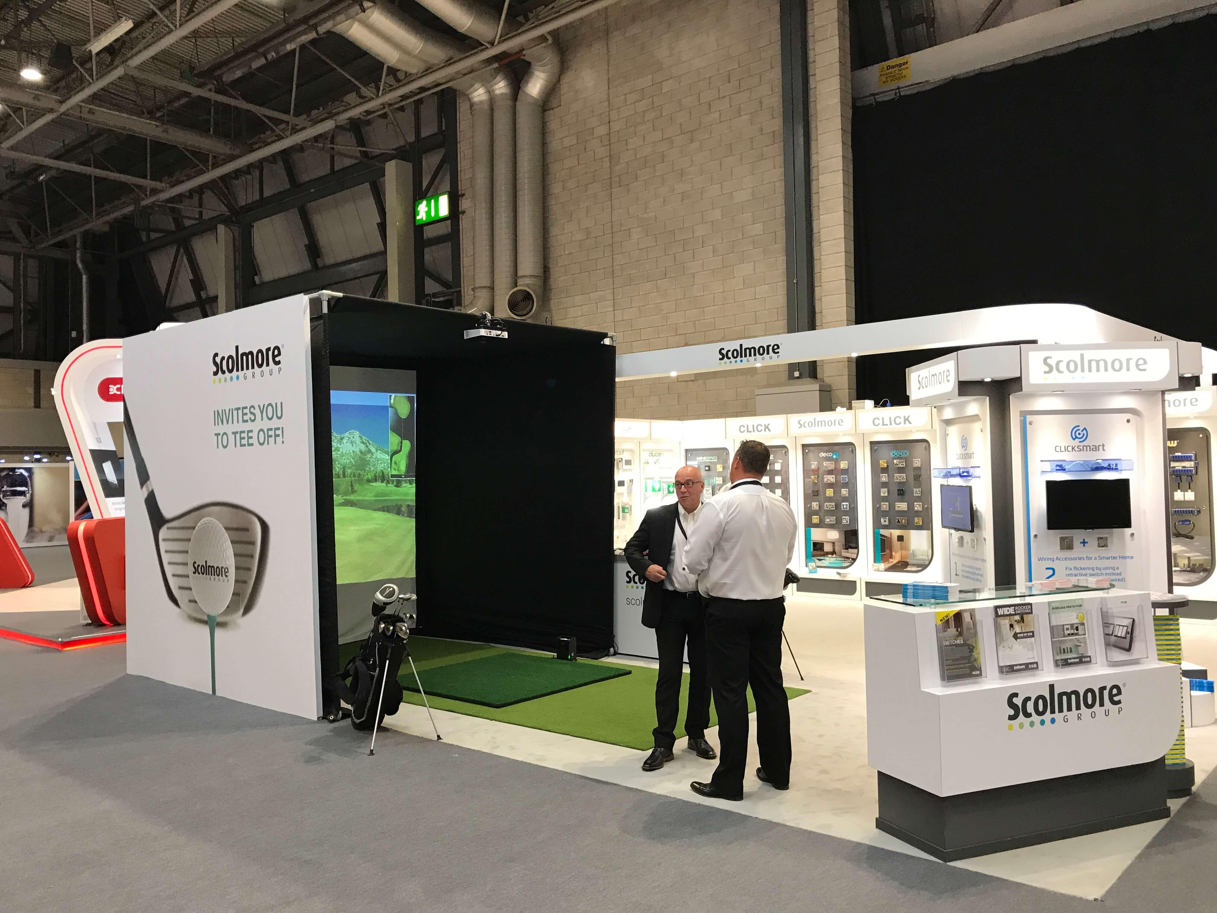 SkyTrak Golf Simulator at The NEC Birmingham