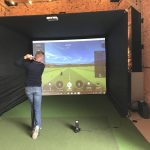 Home Golf Simulator Enclosure
