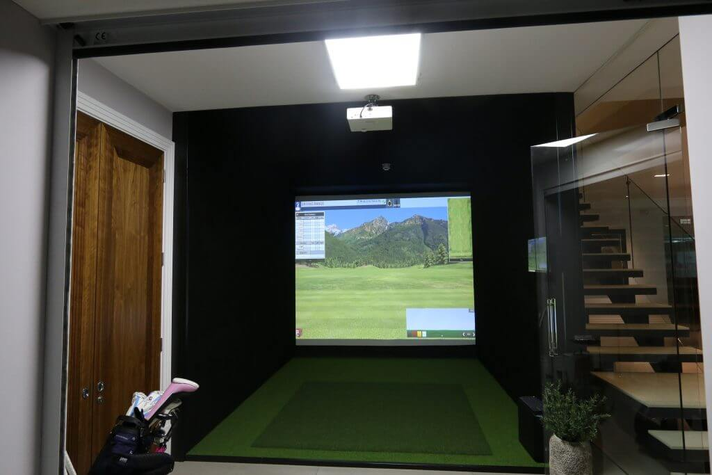 Trackman Tru Golf E6 Installation For Private Client In