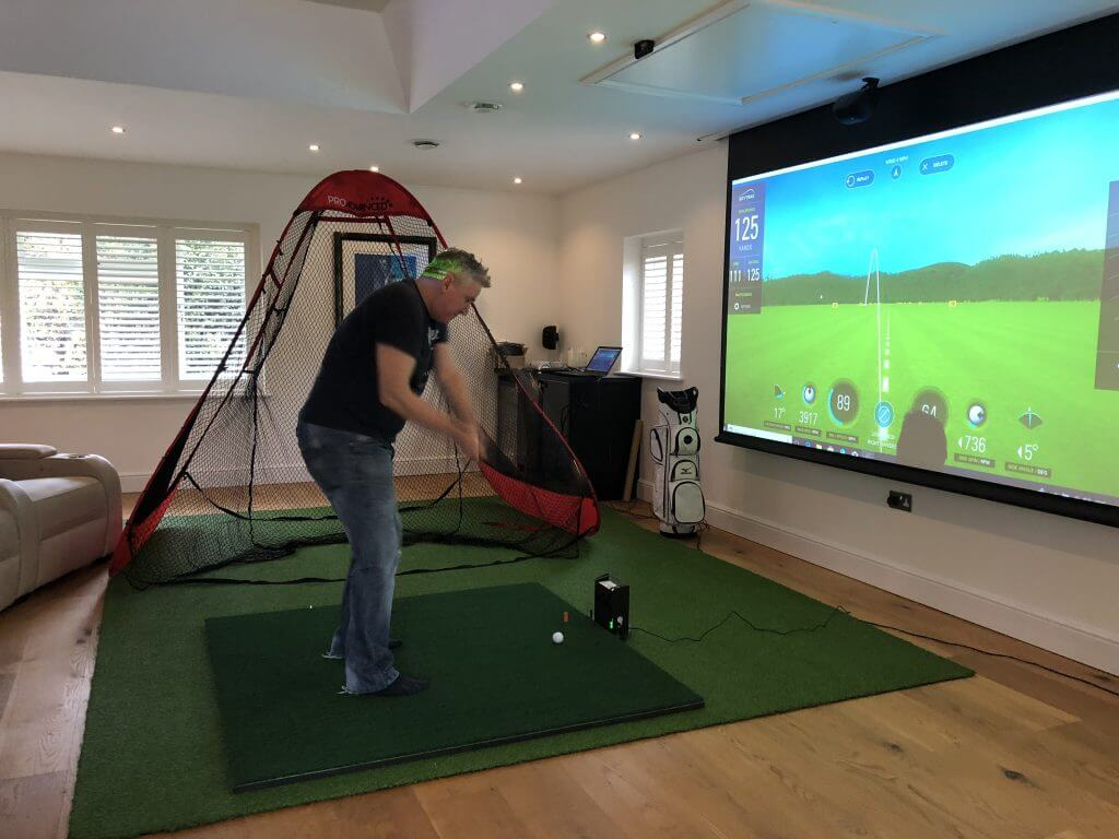 Skytrak Pop Up Package Golf Swing Systems