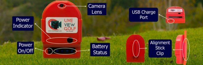 Live View Golf Camera Description